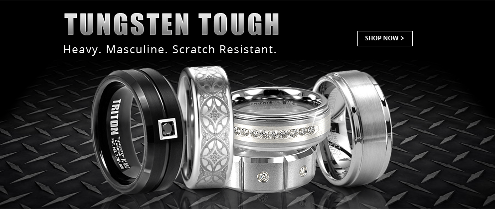 Mens Tungsten Wedding Bands