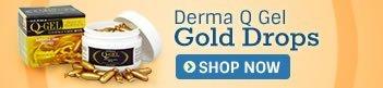 Derma Q Gel Gold Drops