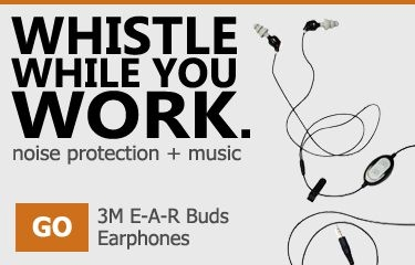 3M E-A-R Buds Earbuds with Hearing Protection