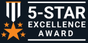 Shopper Approved 5 Star Excellence Award